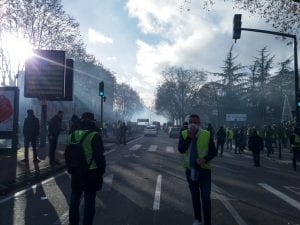 Les gilets jaunes - 8 Dec Toulouse - Field Recording - A binaural diary